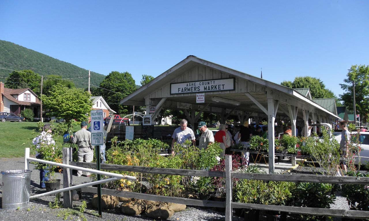Ashe County Farmers Market in West  Jefferson