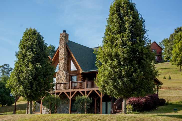 NC MOUNTAIN LOG HOME CANAWHAY COMMUNITY!