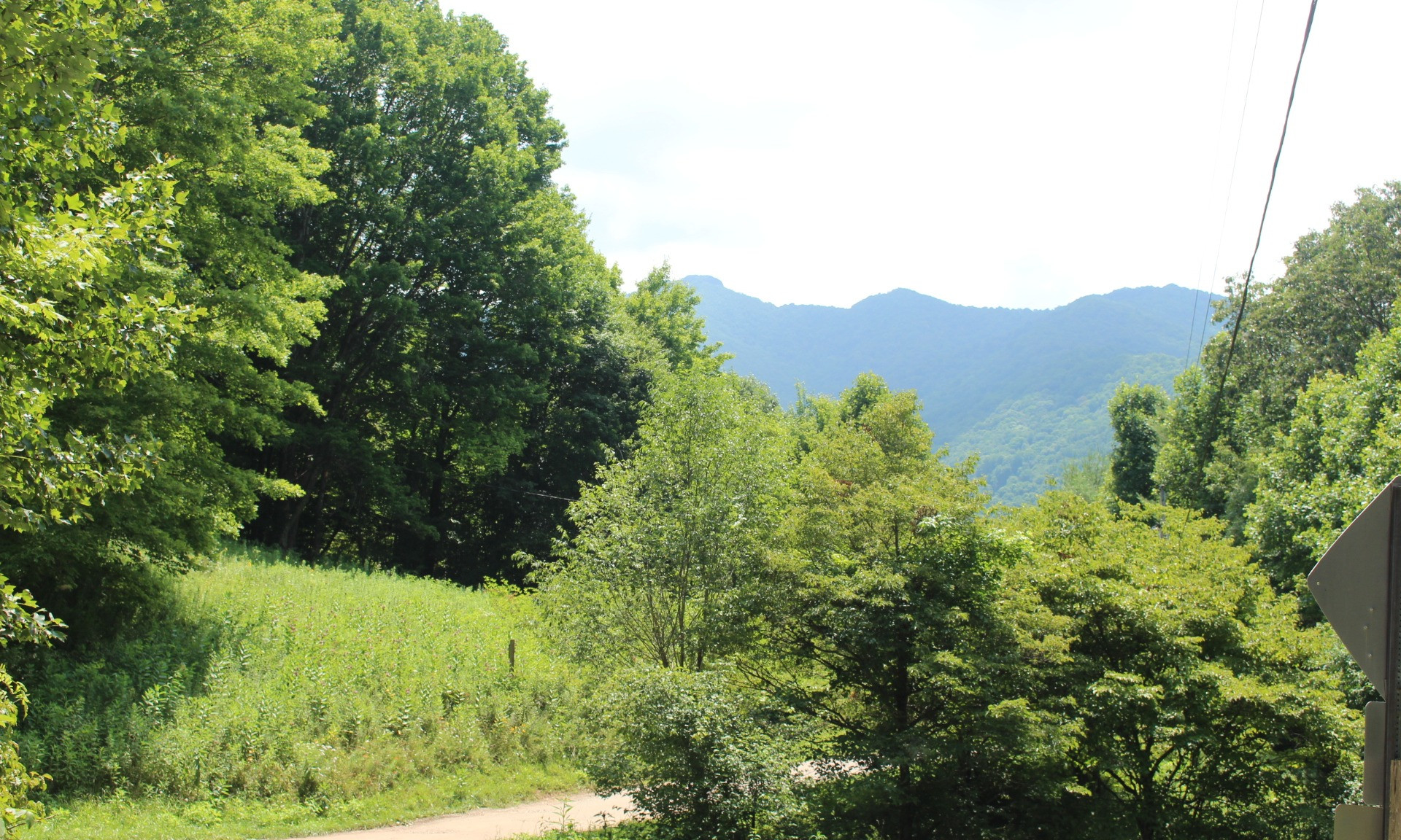 Crestview Estates homesite located in the Creston area of  Ashe County in the North Carolina Mountains.