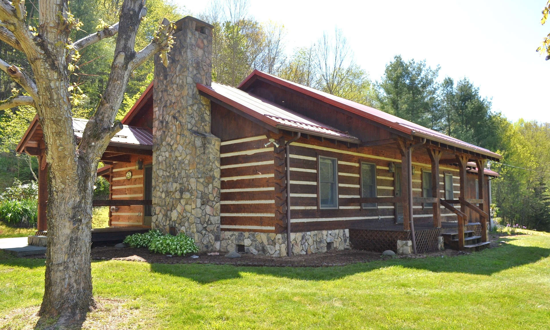 Mountain Log Cabin NC