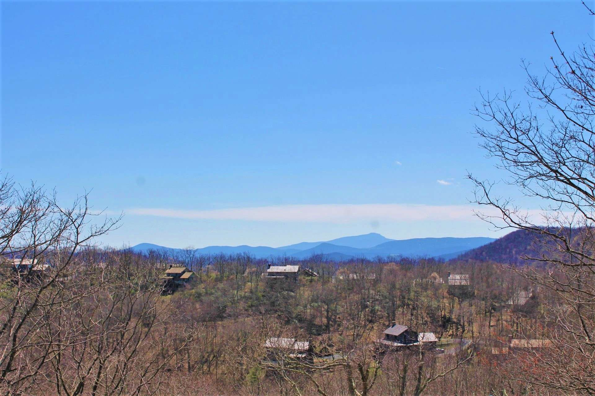 Watch the seasons unfold with Grandfather Mountain in the not too far distance.