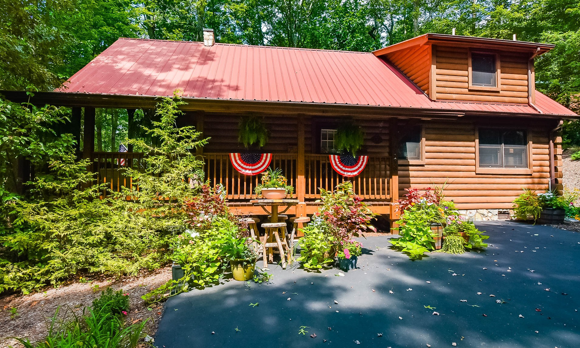 Mountain Log Cabin West Jefferson NC
