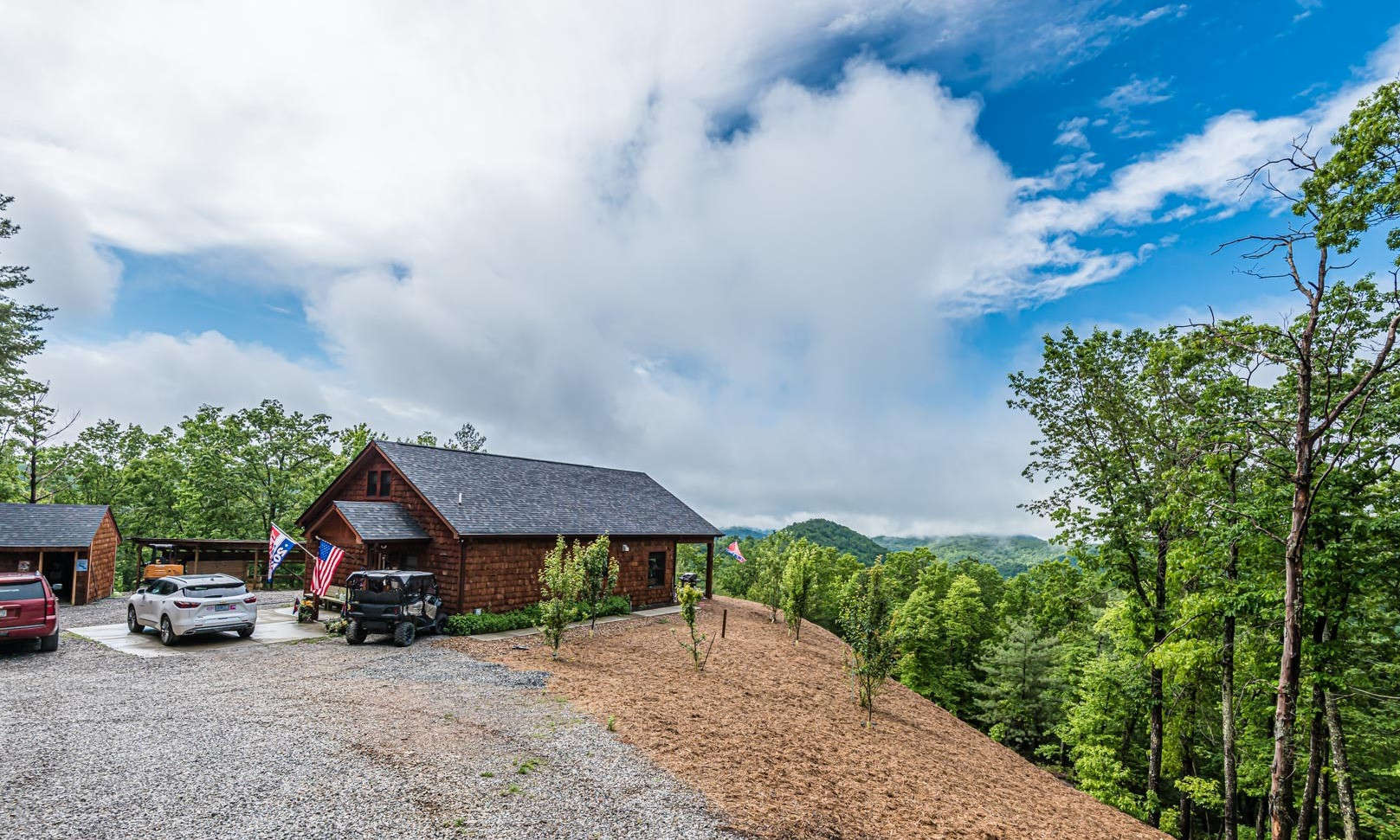 NC Mountain Cabin Acreage Retreat