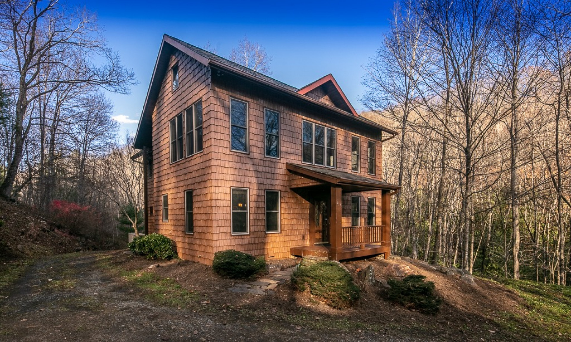 NC Mountain Creekside Craftsman Home
