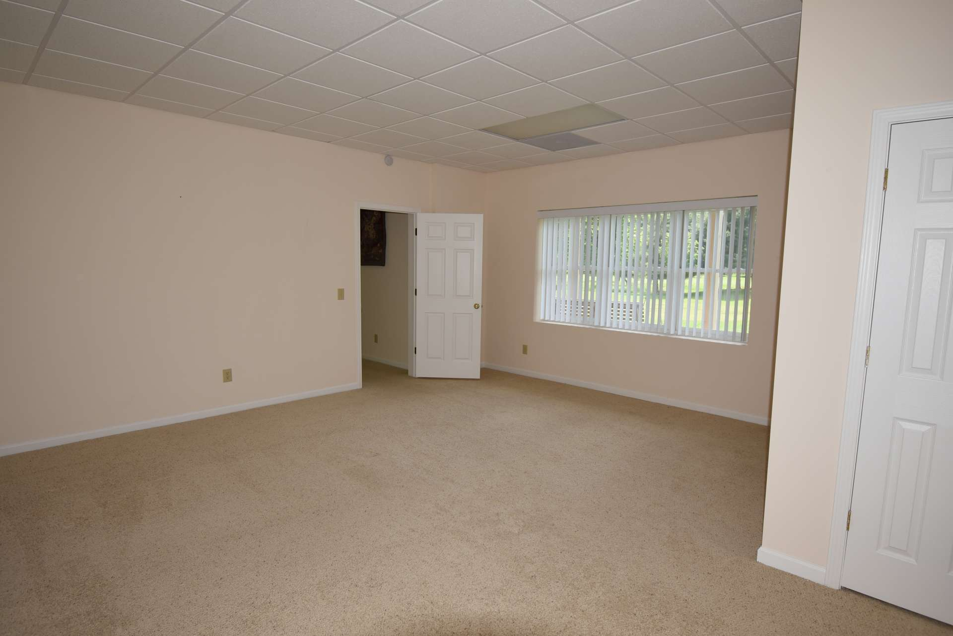 This is the third bedroom located on the lower level.