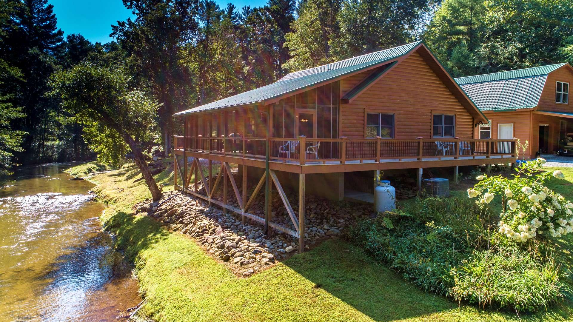 This truly unique property is a hidden gem in the North Carolina High Country.  Call for your private showing of listing O119.