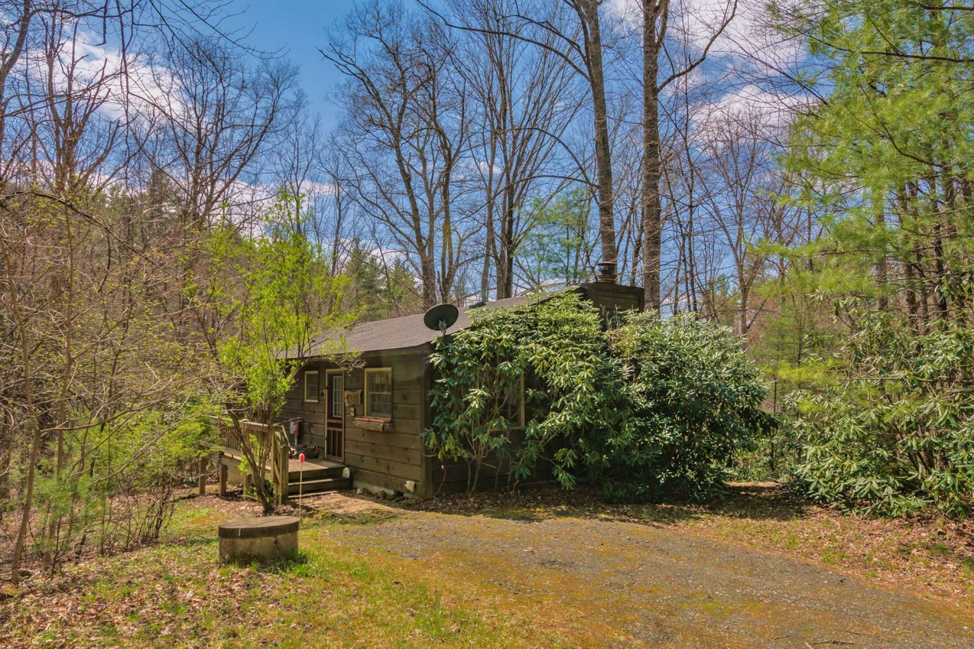 Offered at only $174,900, this sweet mountain cabin is perfect for your mountain retreat or vacation rental investment.  Call today for additional information on listing C143.