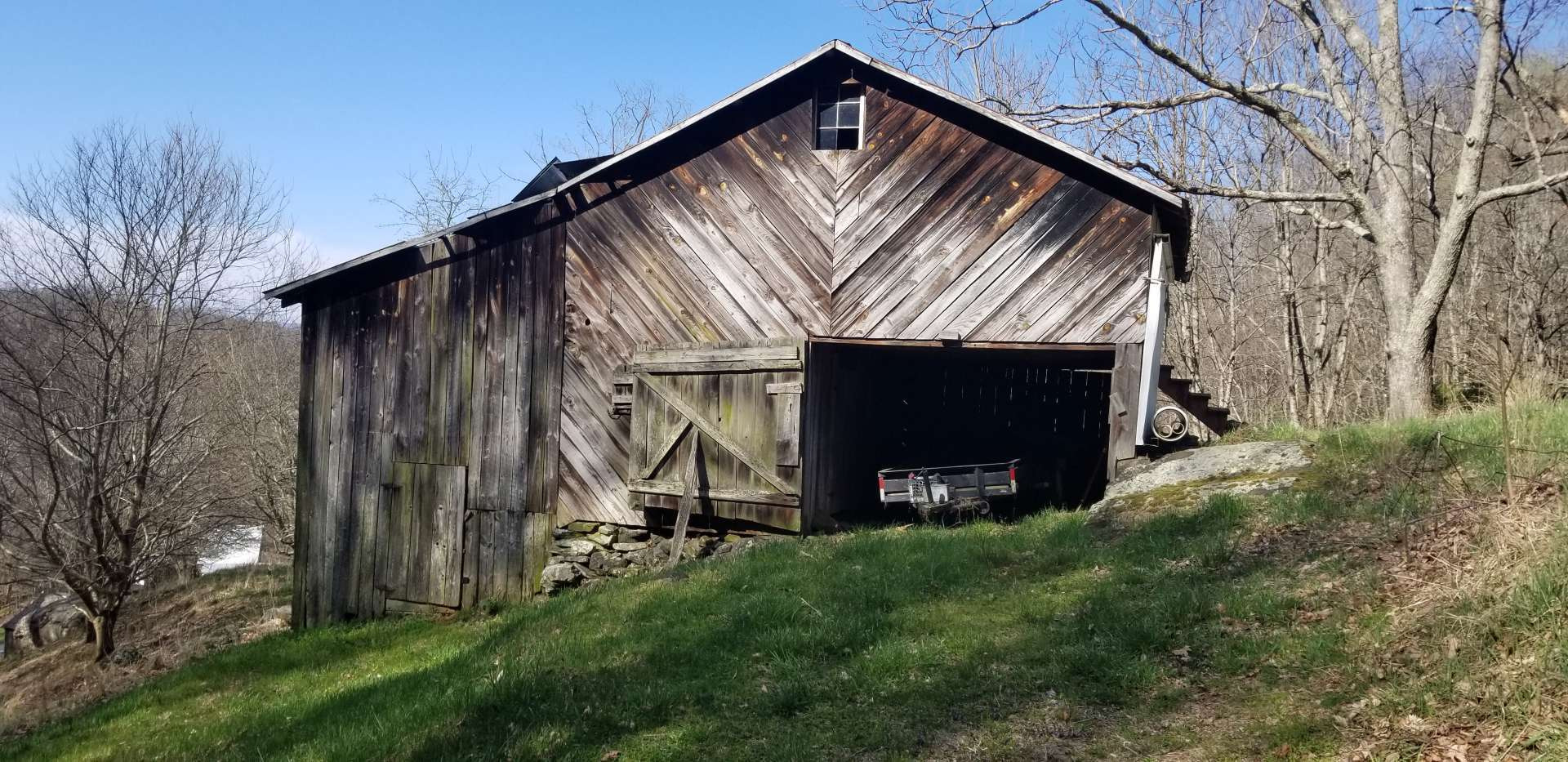 Another Large Barn On Property